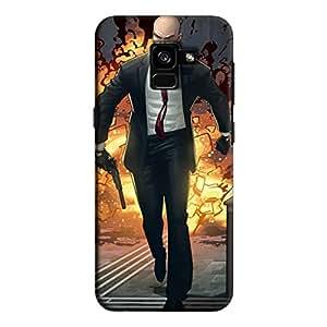 Cover It Up - Hitman Comic Galaxy A8 Plus Hard Case