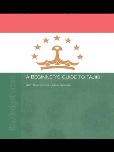 A Beginners' Guide to Tajiki