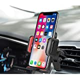 Car Mount,OTEMIK Phone Holder Universal Air Vent Phone Mount,Adjustable 360 Degree Rotation Cellphone Mount One-Button-Release for iPhone X/8/7P, Galaxy S6/7 Note 8,HTC LG Huawei,Other Smartphone(RED)