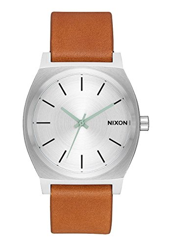Nixon A045-2853 Time Teller Unisex Watch Tan 37mm Stainless Steel