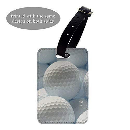 Pelotas de golf patrón de diseño de impresión equipaje equipaje ...