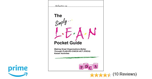 Amazon.com: The Simply Lean Pocket Guide - Making Great ...
