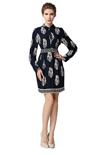 Short Patterned Dresses - 4