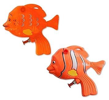 Wasserpistolen Wasserpistole Clownfisch 13 cm Spritzpistolen Wasserspritze Spielzeug