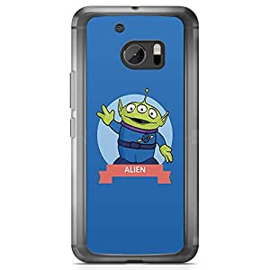 Loud Universe Alien Toy Story Character HTC 10 Case Toy Story HTC 10 Cover with Transparent Edges