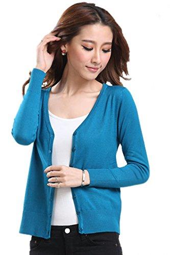 donna Cardigan colori 24 maglia Mooncolour Swearter Xd Impermeabili autunno cover Da Type 7Axd4q7