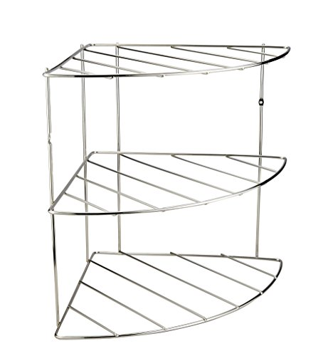 Stainless Steel Corner Shelf Organizer -