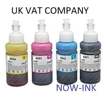 Botellas de Recambio de Tinta compatibles para Epson ...