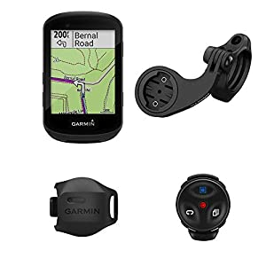 Garmin Edge 530 Mountain Bike Bundle, Performance GPS Cycling/Bike Computer with Mapping, Dynamic Performance Monitoring and Popularity Routing, Includes Speed Sensor and Mountain Bike Mount