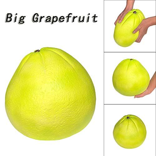 Amazon.com: LtrottedJ Squishies Jumbo Giant Grapefruit Slow Rising Fruit Scented Stress Relief Toys: Toys & Games
