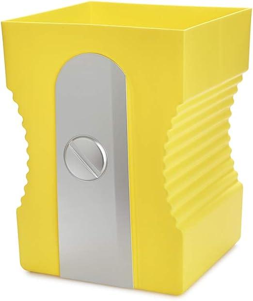 balvi Papierkorb Sharpener Farbe Schwarz Recycling-Papierkorb Das ideale Zubeh/ör f/ür das Arbeitszimmer oder f/ür ins B/üro ABS-Kunststoff//Polypropylen 29 x 21,5 x 21 cm