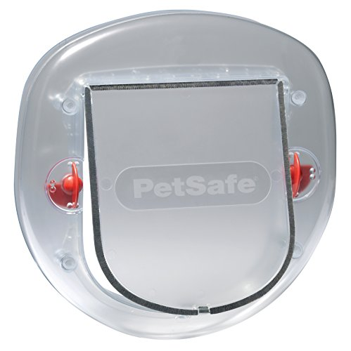 PetSafe Staywell Big Cat/Small Dog, Frosted, Easy Install for Sliding Glass Doors