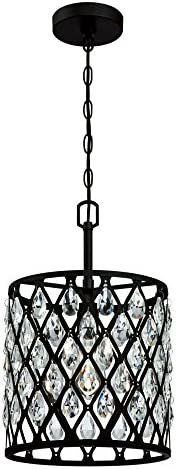 Westinghouse Lighting 6354900 Waltz One-Light Indoor Pendant, 1, Matte Black
