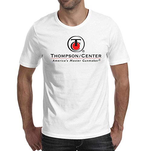 - Men's Thompson Center Short Sleeve T Shirts Crew Neck Printed Hygroscopic Shirts
