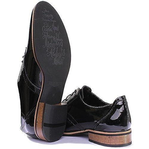 Reece Justin femme Design richelieu en cuir à lacets Style
