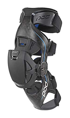 POD Unisex-Adult K8 Knee Brace (Carbon/Blue