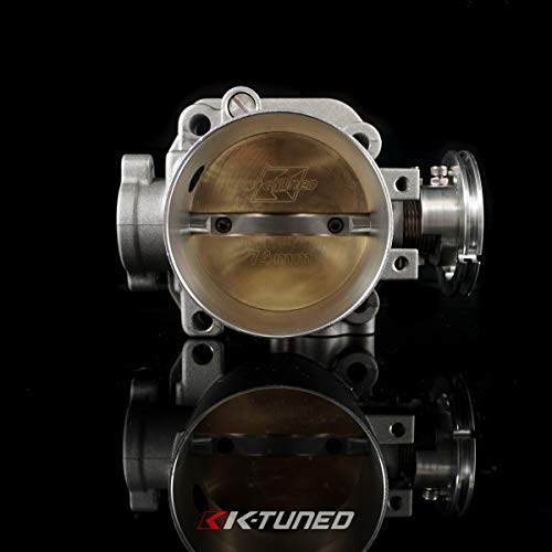 K-Tuned 74mm Cast Throttle Body for Honda B/D/H/F Series Engines