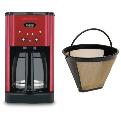 Cuisinart DCC 1200 Programmable Coffeemaker Metallic