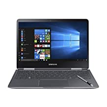 "Samsung Notebook 9 Pro NP940X3M-K01US 13.3"" Touch Screen Laptop, Intel Core i7-7500U Up To 3.5GHz, 8GB DDR4, 256GB SSD, Backlit Keyboard, Windows 10, Titan Silver"