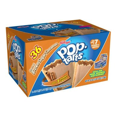 Kellogg's Pop-Tarts, Brown Sugar Cinnamon (36 ct.) (pack of 6)