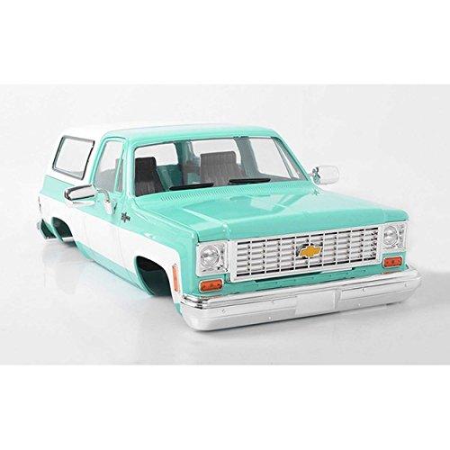 Blazer Body (RC 4WD Z-B0150 Chevrolet Blazer Hard Body Complete Set Teal)
