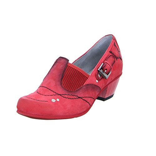 Red Damen Leder 03366 Rot Maciejka Pumps U0Oqpw