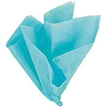 "26"" x 20"" Teal Tissue Paper Sheets, 10ct"