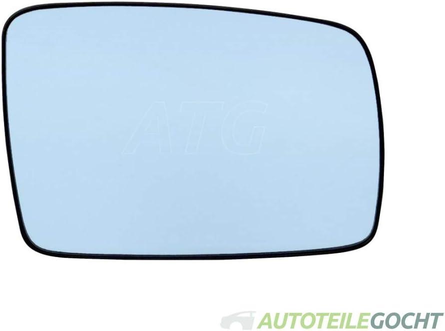 Spiegelglas Rechts blau Konvex Heizbar