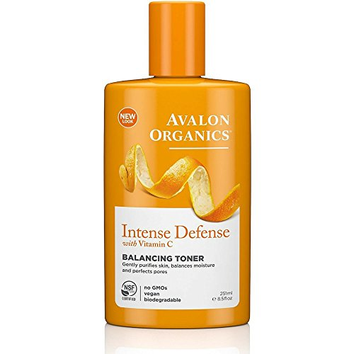 Avalon Organics Intense Defense Balancing Toner, 8.5 Fluid Ounce