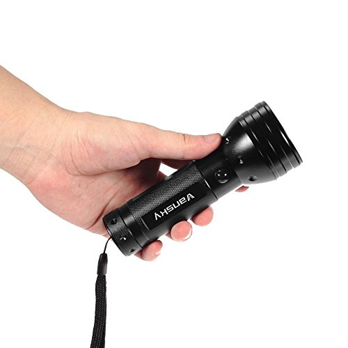 Vansky 51 Leds Black Light Flashlight Pets Ultra Violet