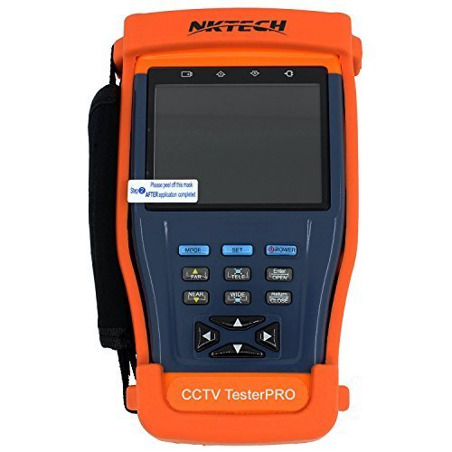 NKTECH ST893 3.5 Inch LCD Monitor CCTV Camera Video PTZ RS485 UTP Tester Meter for On-site Installation and Maintenance of Video Monitoring System NK-ST-893