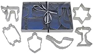 Judaic Tin Cookie Cutter 6 Piece Set L1970