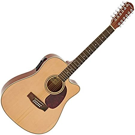 Guitarra Electroacustica Dreadnought de 12 Cuerdas de Gear4music ...