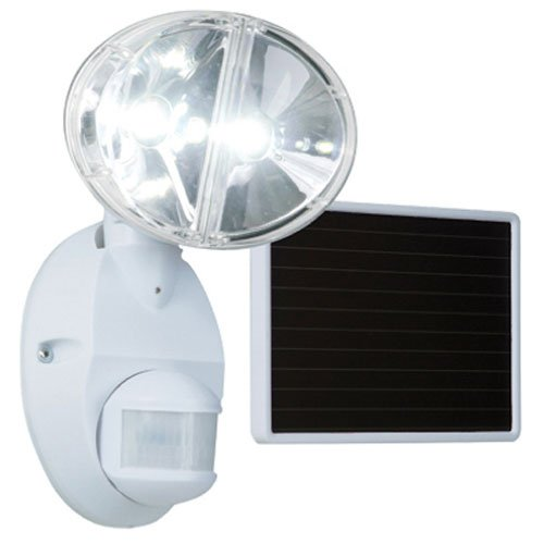 Cooper Lighting Led Motion Activated Solar Led Flood Light - 2