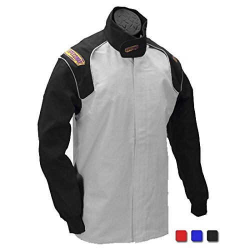 Blue Racing Jacket Only, SFI-1, Small by Speedway Motors