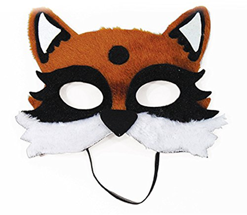 Child's Animal Critter Forest Fox Half Mask Costume Accessory for $<!--$7.99-->