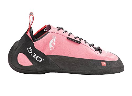 Five Ten Men's Anasazi Lace Climbing Shoe,The Pink,12.5 D US