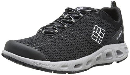 Columbia Drainmaker III - Zapatos Híbridos para hombre, color Negro (Black, Columbia Grey 011), talla 40