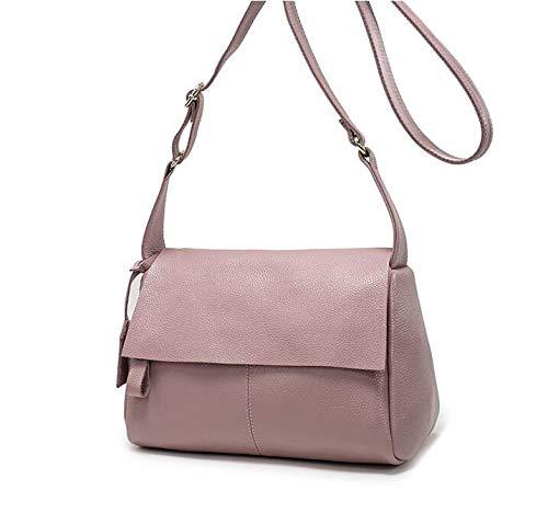 Printing Shoulder Bag Oblique Leather C Female Cowhide Hongge Simple Span Single qAzCaw