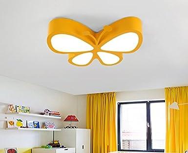 Moderne Lampen 90 : Suhang kronleuchter cartoon kinder butterfly deckenleuchte led