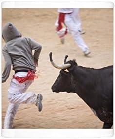 Taza coat Bull, San fermín festival, Plaza de Toros, Pamplona, Navarra, España,: Amazon.es: Hogar