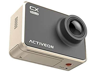 ACTIVEON CX Gold Action Camera (Black Gold)