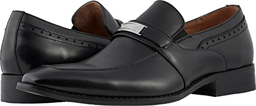 Stacy Adams Heren Shaw Moc Teen Bit Slip-on Loafer Zwart