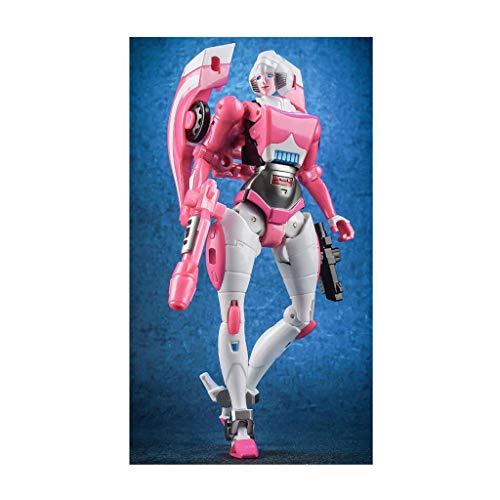 Siyushop Female Hero Rescue Robot, Combat Robot Model,