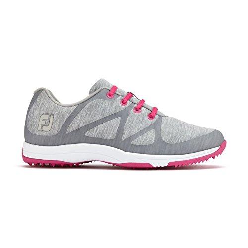 FootJoy Womens Leisure Golf Shoes Grey/Pink-m wbwUpMDOY