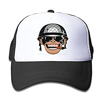 Amazon.com: Gorilla was Wearing A Helmet Personalized Hat ...