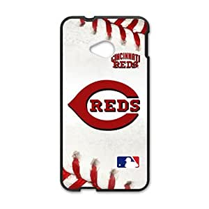 Happy Cincinnrti Reds Cell Phone Case for HTC One M7