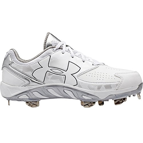 Under Armour Kvinners Ua Ryggrad Glyde Softball Cleats Hvit / Hvit