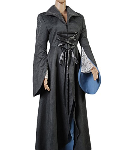 NoveltyBoy The Lord of the Rings Arwen Chase Grey Coat Dress Costum