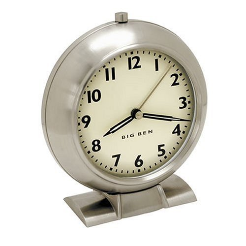 (Salton Westclox 47602 Big Ben 1939 Retro Antiqued Dial)